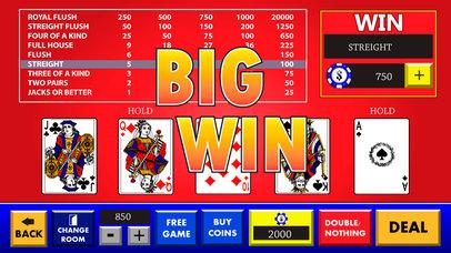 Screenshot 4 Video Poker : Double Bonus Card Game