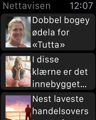 Nettavisen - iPhone edition iPhone Screenshot 3
