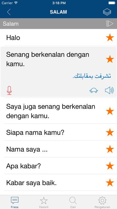 Belajar Bahasa Arab - Frasa & Kosa Kata di App Store