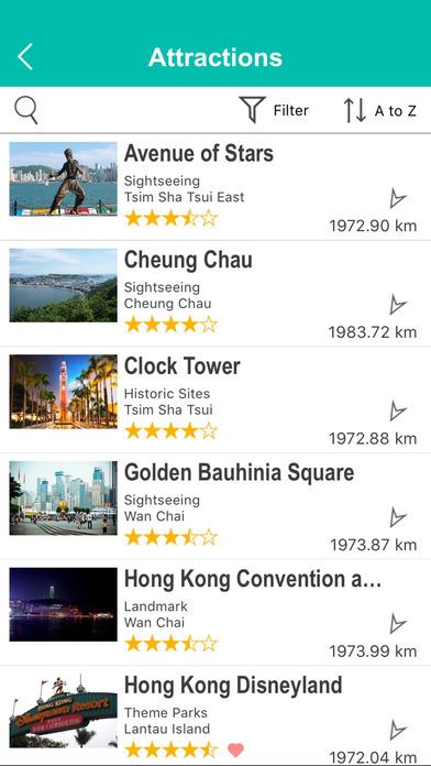 Hong Kong Street Map Offline iPhone Screenshot 4