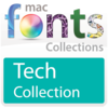 10 款科技型字体 MacFonts-TechFonts for Mac