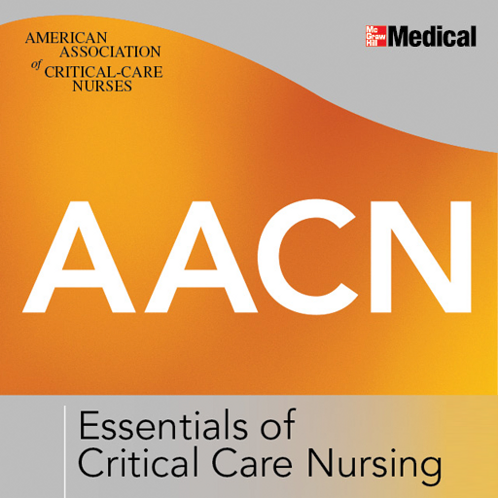 acccn critical care nursing handbook