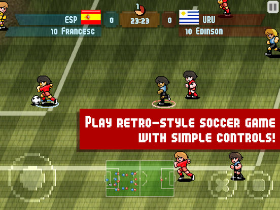 Pixel Cup Soccer Screenshots