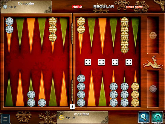 Backgammon HD iPad Screenshot 3