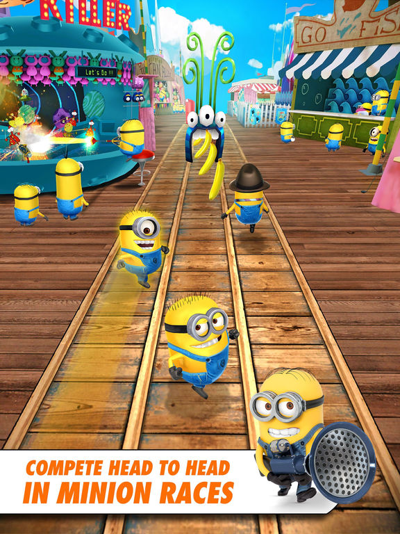 Screenshots of Despicable Me: Minion Rush for iPad