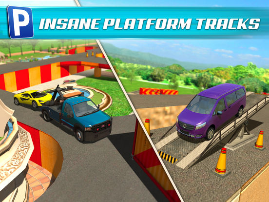 Obstacle Course Extreme Car Parking Simulator screenshot 10