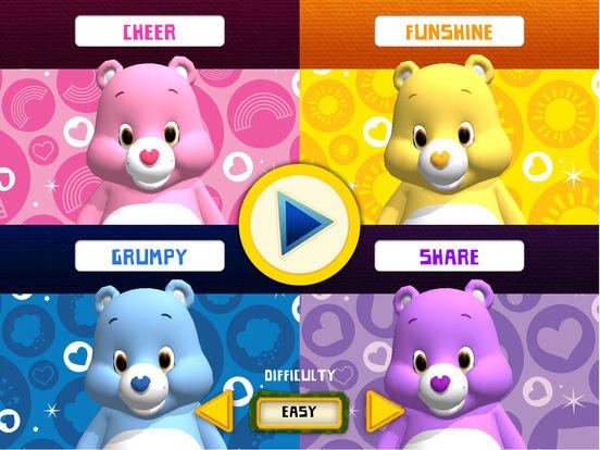 Rainbow Slides: Care Bears!screeshot 4