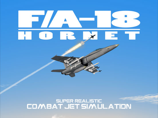 FA-18 Hornet - Combat Jet Flight Simulator screenshot