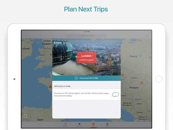 City Maps 2Go Pro - Offline Map and Travel Guide screenshot