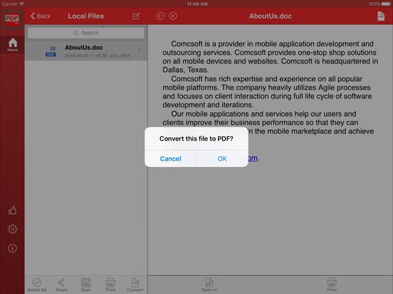 Power PDF Pro - Create, View, Secure PDF Files Screenshots