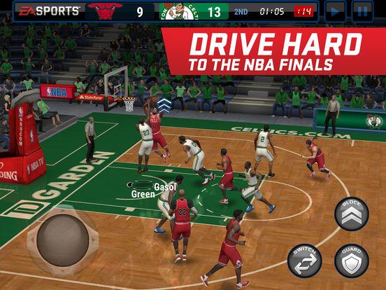 Screenshots of NBA LIVE Mobile for iPad