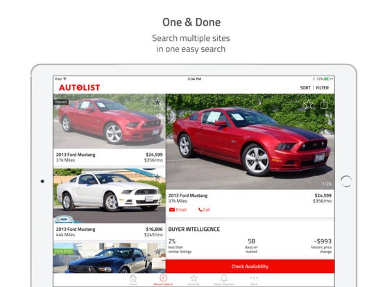 Autolist - Used Cars for Sale screenshot