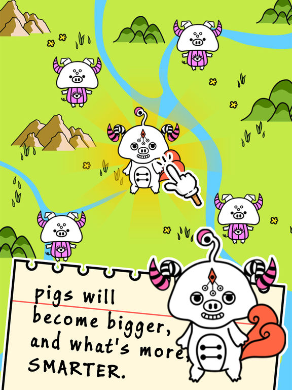 Pig Evolution - Tap Coins of the Crazy Mutant Simulator Idle Game-ipad-1