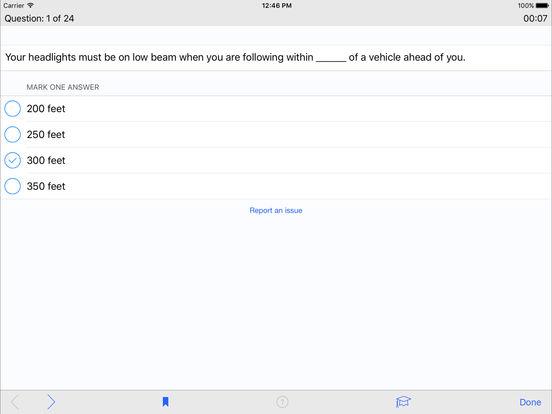 DMV Test Prep - Pennsylvania iPad Screenshot 3