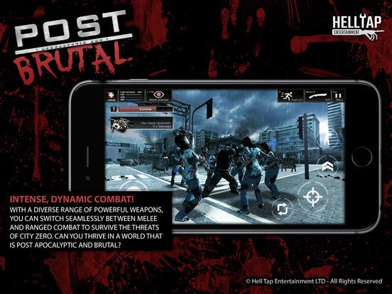 Post Brutal - Апокалиптические зомби действий RPG на iPad