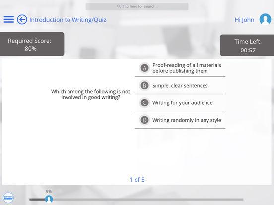 Writing for iPad iPad Screenshot 3