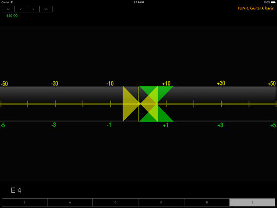 Tunic Guitar Classic iPad Screenshot 1