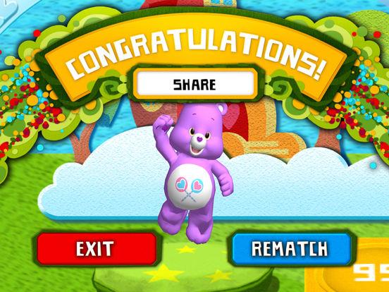 Rainbow Slides: Care Bears!screeshot 5