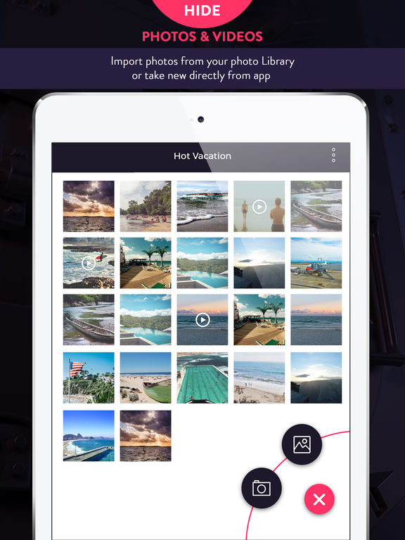 Hide Photos & Videos - Private Gallery Vault Pro Screenshots