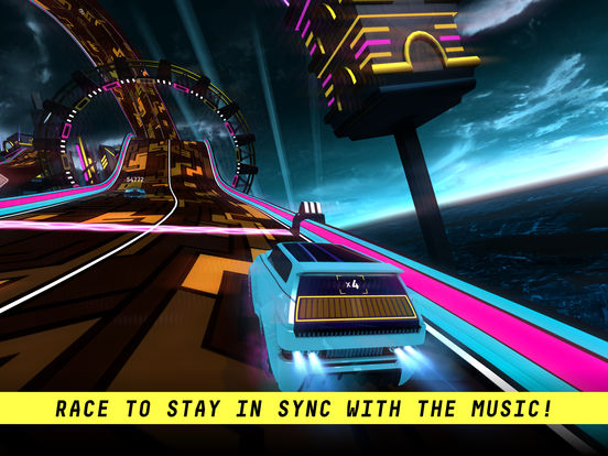 Riff Racer: Race Your Music Screenshots