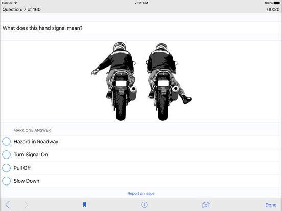 Motorcycle Test Prep iPad Screenshot 3