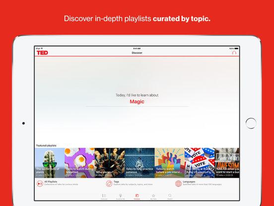 TED iPad Screenshot 4