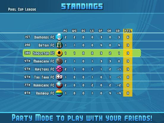 Pixel Cup Soccer 16 Screenshots
