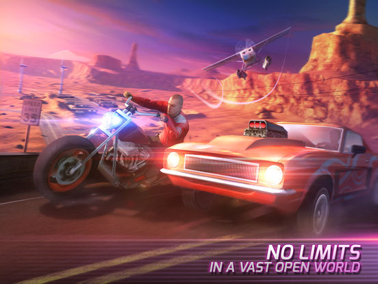 Screenshots of Gangstar Vegas for iPad
