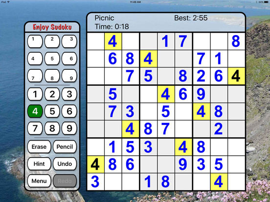 :) Sudoku +screeshot 1