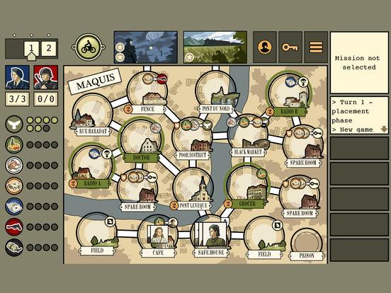Screenshot #1 for Maquis Board Game