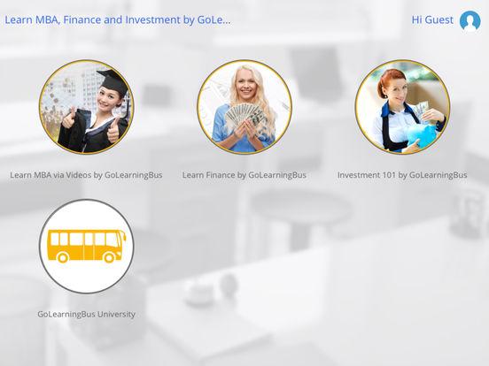 MBA for iPad iPad Screenshot 1