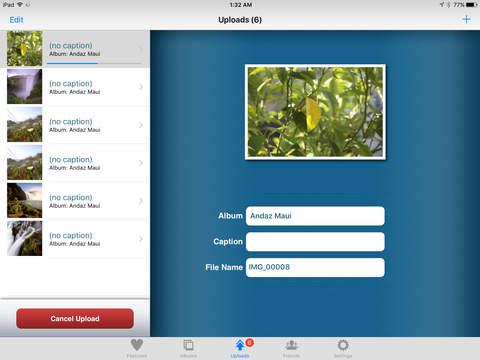 iPicasso HD - Picasa Web Albums Manager iPad Screenshot 1