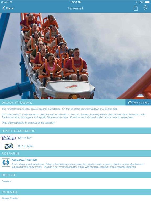 Hersheypark screenshot