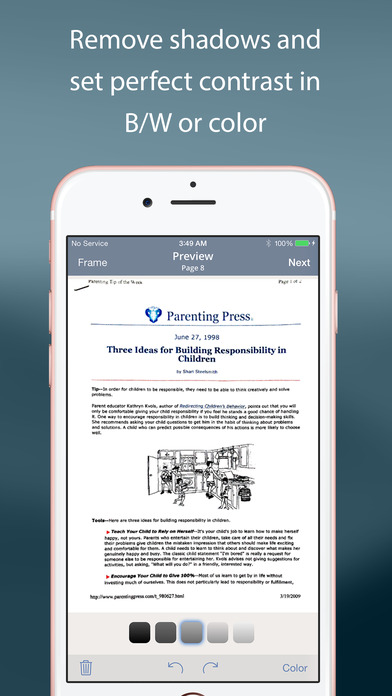 TurboScan™ - document & receipt scanner: scan multiple pages and photos to PDF app image