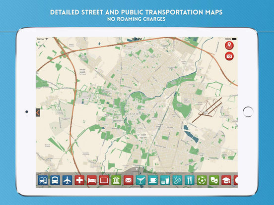 Cambridge Travel Guide iPad Screenshot 4