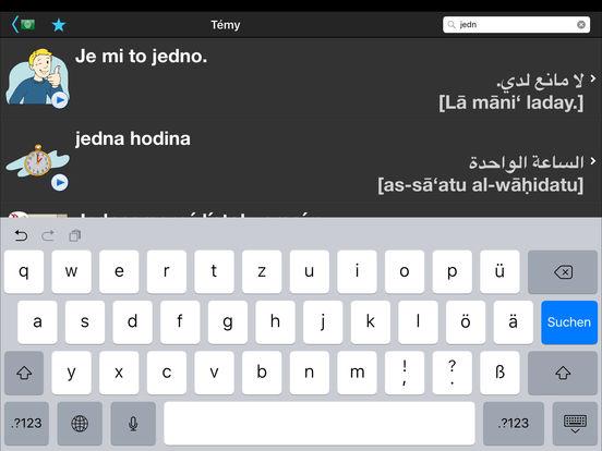 Cestovný prekladač iPad Screenshot 5