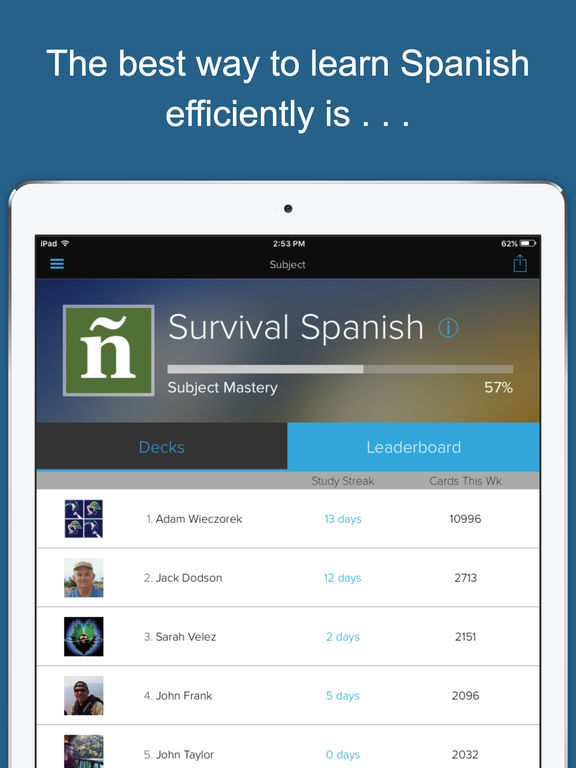 Speak Spanish - for Survival and Travel screenshot