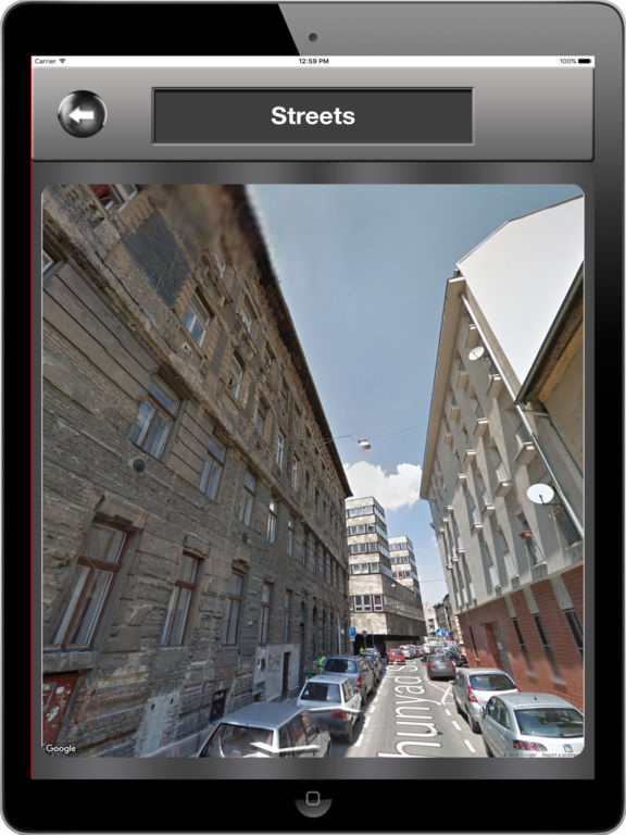 Budapest_Hungary Offline maps & Navigation Screenshots