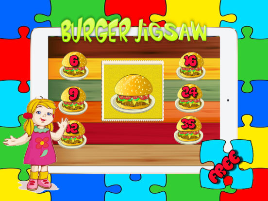 App Shopper Food Burger Jigsaw Cooking Puzzles Games For Adults And Kid Free Games