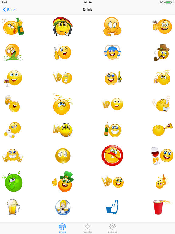 ... Adult Emojis Emoticon Icons - Free Smiley Faces Keyboard Funny  Sticker.s for Texting screenshot