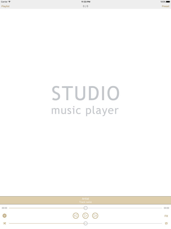 Studio Music Player DX. Скрин 1