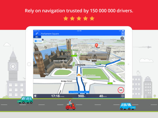 Sygic: GPS Navigation, Offline Maps & POI, Traffic & Speed Cameras screenshot