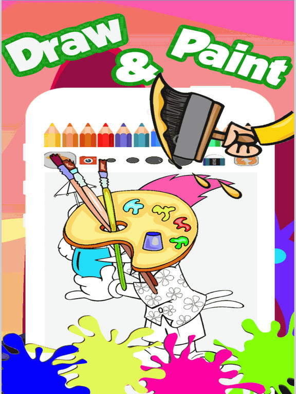 Draw Pages Game Woody Woodpecker Version
