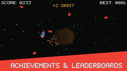 Orbit - Free Retro Arcade Game Screenshot