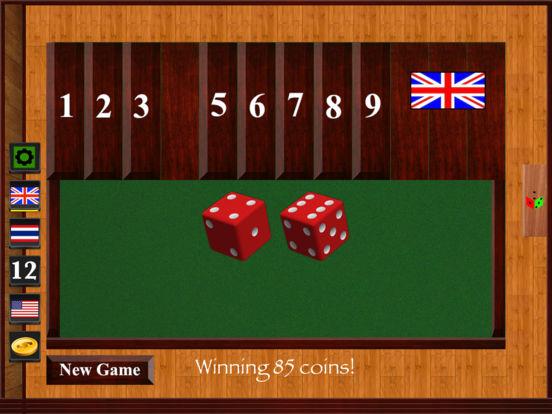 Shut the Box Classic for iPad iPad Screenshot 1
