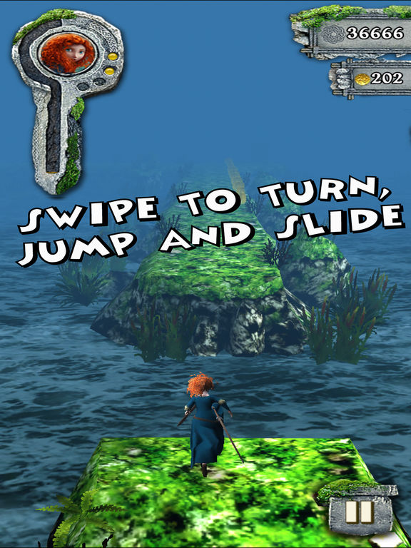 Screenshot #2 for Temple Run: Brave