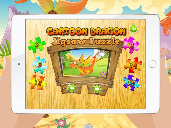 Мультфильм Дракон Пазлы для детей – Детский сад Обучение Игры Бесплатно Скриншоты6