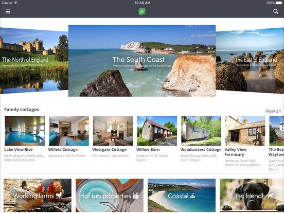 Cottages iPad Screenshot 1