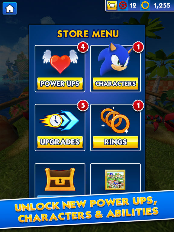 Screenshots of Sonic Dash for iPad