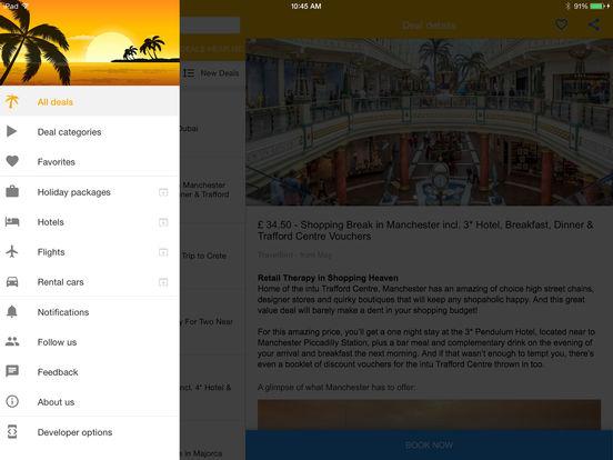 Vacation Deals - Flights - Cruises - Hotels by TravelDeals24 screenshot